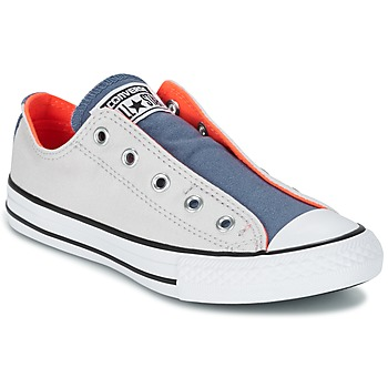 Sapatos Criança Sapatilhas Converse CHUCK TAYLOR ALL STAR SLIP SUMMER FUNDAMENTALS SLIP Cinza / Azul / Laranja
