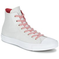 Sapatos Sapatilhas de cano-alto Converse CHUCK TAYLOR ALL STAR II BASKETWEAVE FUSE HI Cru / Branco / Vermelho