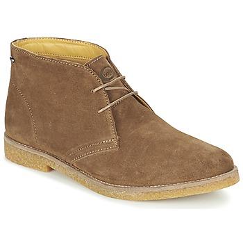 Sapatos Homem Botas baixas Base London CHARLTON Castanho