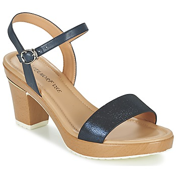 Sapatos Mulher Sandálias Metamorf'Ose ZACQUESTE Azul / Castanho