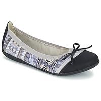 Sapatos Mulher Sabrinas Les P'tites Bombes CAPRICE Cinza / Preto