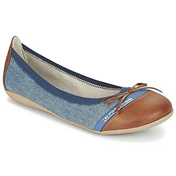 Sapatos Mulher Sabrinas Les P'tites Bombes CAPRICE Azul / Camel