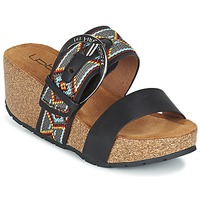Sapatos Mulher Chinelos Les P'tites Bombes GLYCINE Preto