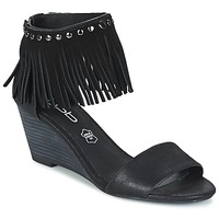Sapatos Mulher Sandálias Les P'tites Bombes NADIA Preto