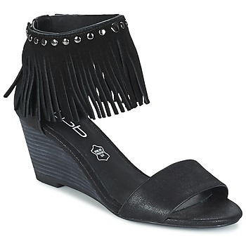 Sapatos Mulher Sandálias Les Petites Bombes NADIA Preto