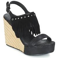 Sapatos Mulher Sandálias Les P'tites Bombes SABINE Preto