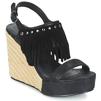 Sapatos Mulher Sandálias Les Petites Bombes SABINE Preto