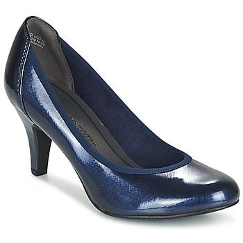 Sapatos Mulher Escarpim Marco Tozzi JAFRAKO Marinho