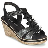 Sapatos Mulher Sandálias Marco Tozzi CHAVELA Preto