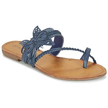 Sapatos Mulher Chinelos Moony Mood ELIANA Azul