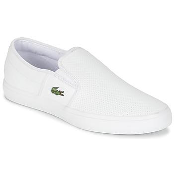 Sapatos Homem Slip on Lacoste GAZON BL 1 Branco