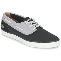 Sapatos Homem Sapato de vela Lacoste JOUER DECK 117 1 Preto