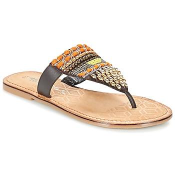 Sapatos Mulher Chinelos Tamaris NIRI Castanho