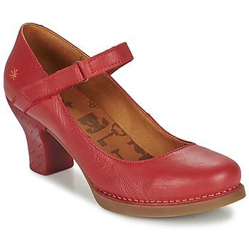 Sapatos Mulher Escarpim Art HARLEM Carmim