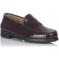Sapatos Homem Mocassins Castellanos Artesanos 350 Vermelho