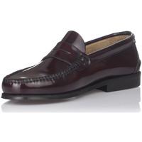 Sapatos Homem Mocassins Castellanos Artesanos 600 Vermelho