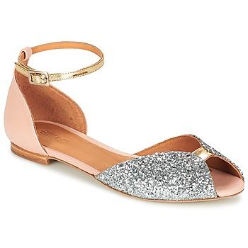 Sapatos Mulher Sandálias Emma Go JULIETTE Rosa / Prata / Ouro