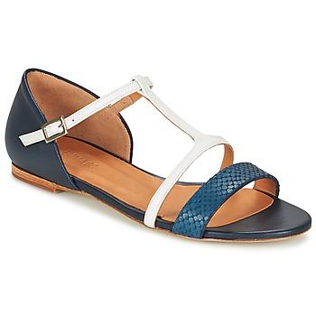 Sapatos Mulher Sandálias Emma Go KEIRA Marinho / Branco