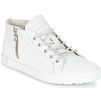 Sapatos Mulher Sapatilhas de cano-alto Blackstone NL35 Branco