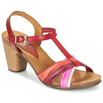 Sapatos Mulher Sandálias Bunker LIZ Vermelho / Rosa