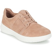 Sapatos Mulher Sapatilhas FitFlop SPORTY-POP X CRYSTAL Rosa