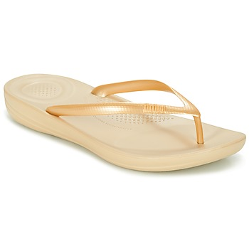 Sapatos Mulher Chinelos FitFlop IQUSHION ERGONOMIC FLIP-FLOPS Ouro