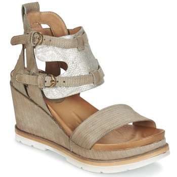 Sapatos Mulher Sandálias Mjus APRIL Toupeira / Prateado