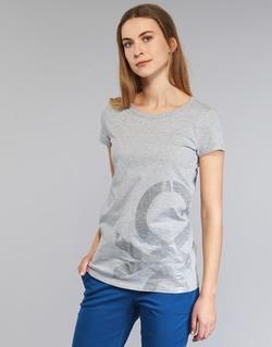 Textil Mulher T-Shirt mangas curtas Benetton MADOUL Cinza