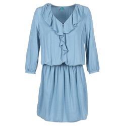 Textil Mulher Vestidos curtos Benetton AFIDOUL Azul