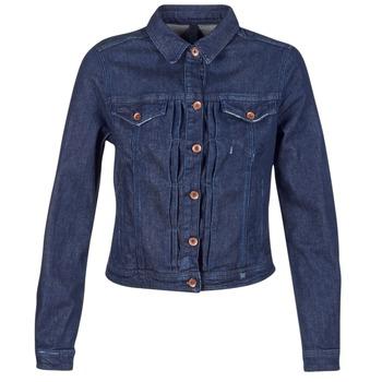 Textil Mulher casacos de ganga Benetton FESCAR Azul / Escuro