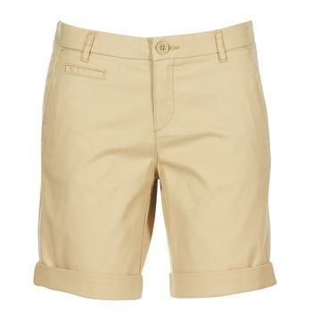 Textil Mulher Shorts / Bermudas Benetton JAVIN Bege