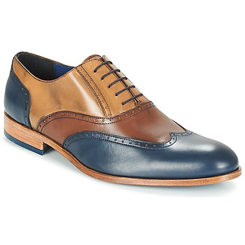 Sapatos Homem Richelieu Brett & Sons ROLIATE Castanho / Bege / Azul