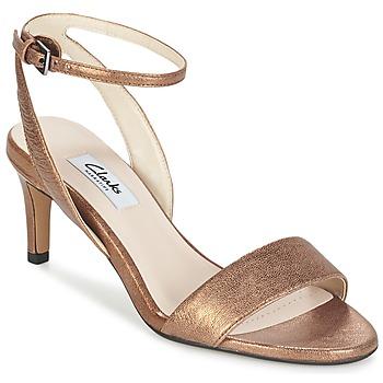 Sapatos Mulher Sandálias Clarks AMALI JEWEL Ouro