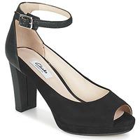 Sapatos Mulher Sandálias Clarks KENDRA ELLA Preto