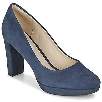 Sapatos Mulher Escarpim Clarks KENDRA SIENNA Azul