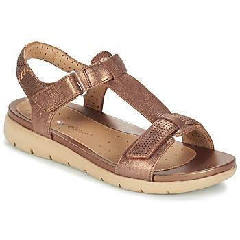 Sapatos Mulher Sandálias Clarks UN HAYWOOD Bronze