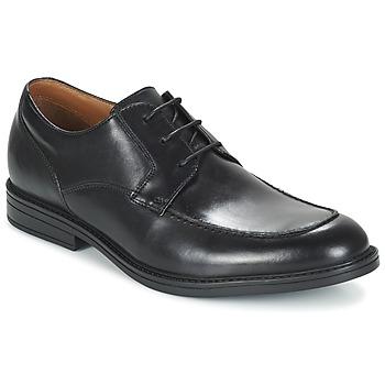 Sapatos Homem Sapatos Clarks BECKFIELDAPRON Preto