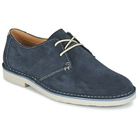 Sapatos Homem Sapatos Clarks JARETH WALK Azul