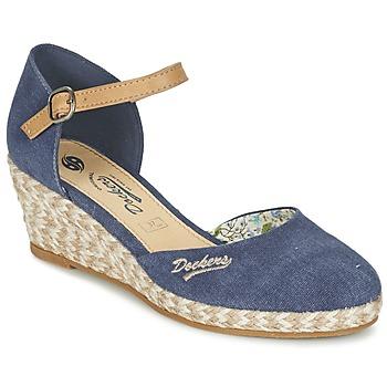 Sapatos Mulher Sandálias Dockers by Gerli AFINOUDE Azul