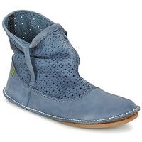 Sapatos Mulher Botas baixas El Naturalista FORMENTERA Azul