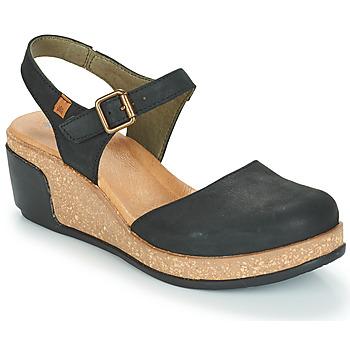 Sapatos Mulher Sandálias El Naturalista LEAVES Preto