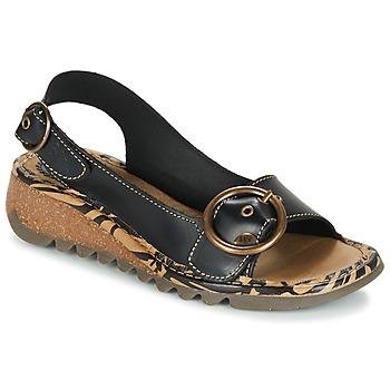 Sapatos Mulher Sandálias Fly London TRAMFLY Preto
