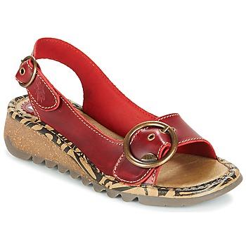 Sapatos Mulher Sandálias Fly London TRAMFLY Vermelho