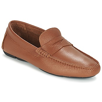Sapatos Homem Mocassins Heyraud ELIOTT Castanho