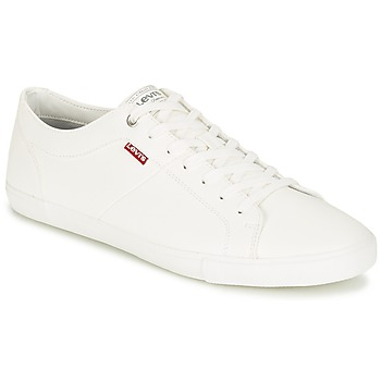Sapatos Homem Sapatilhas Levi's WOODS Branco