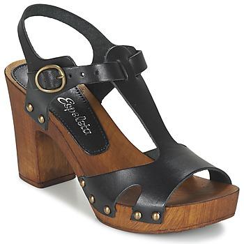 Sapatos Mulher Sandálias Lola Espeleta NICIA Preto
