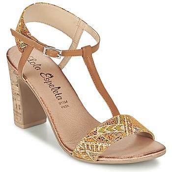 Sapatos Mulher Sandálias Lola Espeleta GIULIA Conhaque
