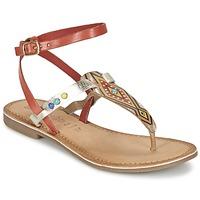 Sapatos Mulher Sandálias Lola Espeleta ELODIE Vermelho / Prata