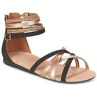 Sapatos Rapariga Sandálias Bullboxer REVILZOA Preto / Ouro
