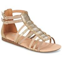 Sapatos Rapariga Sandálias Bullboxer JEZIANA Ouro